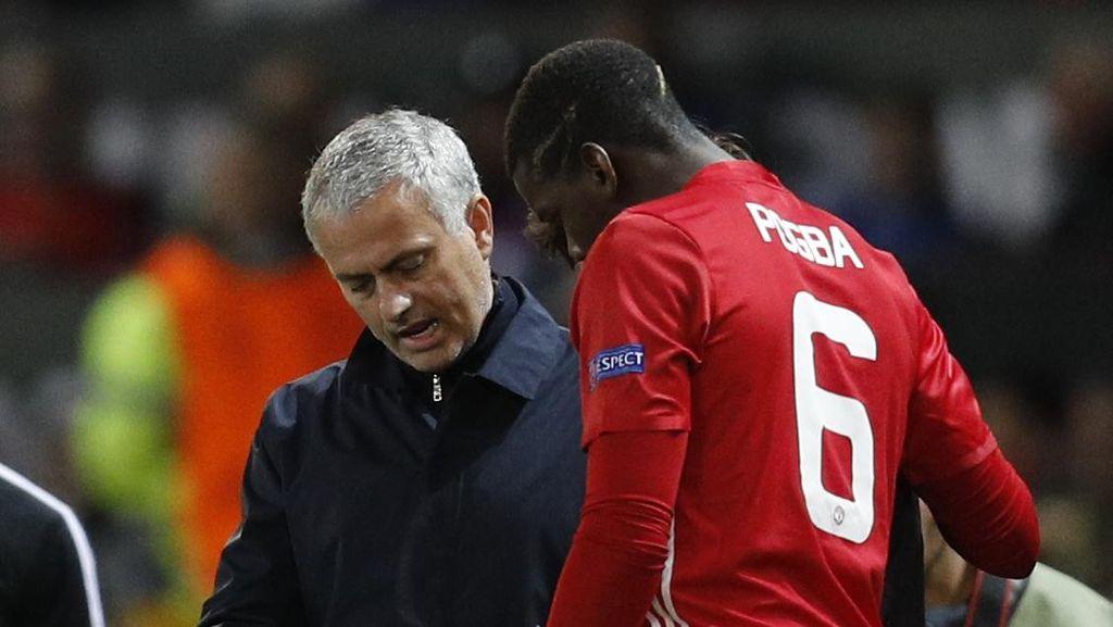 Asisten Salah Beri Info, Mourinho Marah-Marah di Pinggir Lapangan