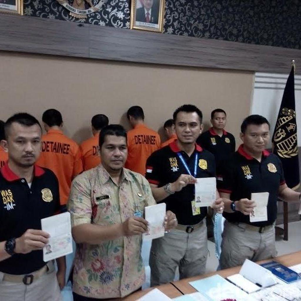 Lima WN China Pekerja Instalator Listrik Dideportasi