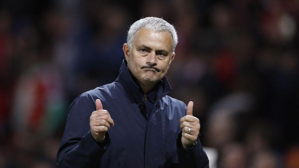 Mourinho Tanggapi Kemenangan MU dengan Biasa-Biasa Saja