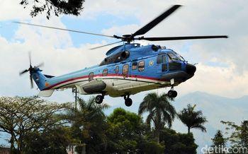 Melihat Wajah Baru Helikopter Kepresidenan