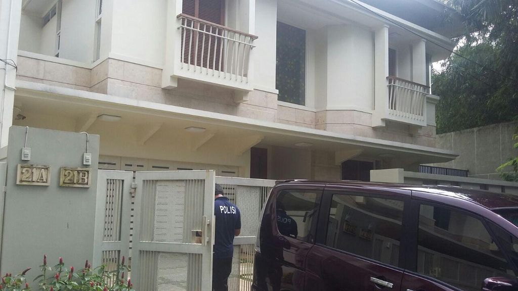 Rumah Atase Kedubes Kuwait di Setiabudi Kemalingan