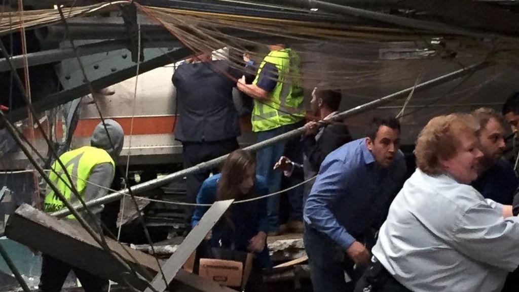 1 Orang Tewas dalam Kecelakaan Kereta di New Jersey