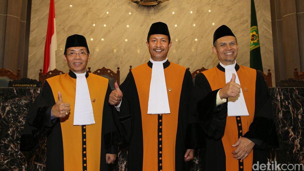 MA Resmi Lantik Tiga Hakim Agung Baru