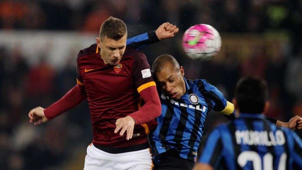 Duel Roma vs Inter Panaskan Serie A