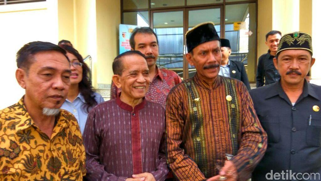Raja Gowa ke-37 Temui Wakapolri, Ceritakan Kerusuhan di Gedung DPRD