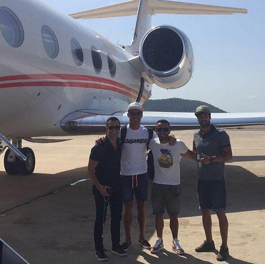 Jet Pribadi Ronaldo Alami <i>Crash Landing</i> di Barcelona