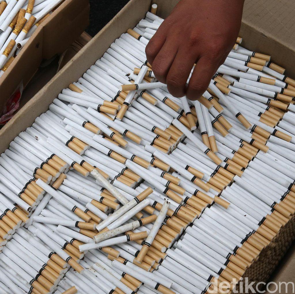 Bea Cukai Gagalkan 11 Juta Batang Rokok SUV Ilegal