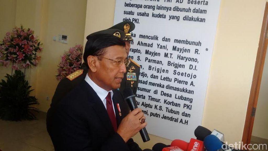 Wiranto: Kalau Dengarkan Pihak Luar, Tragedi 1965 Tak Terselesaikan