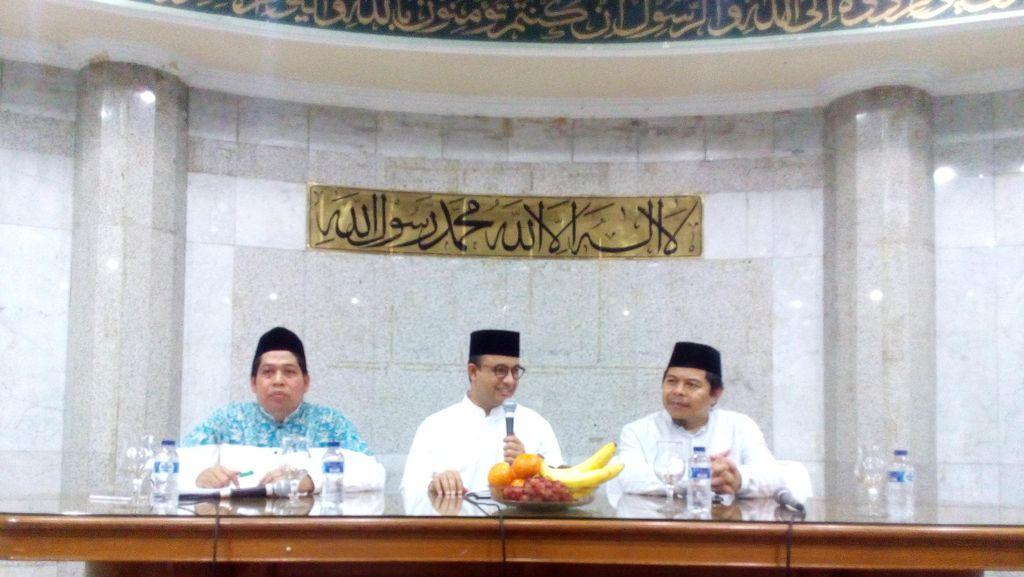 Di Masjid Sunda Kelapa, Anies: Keputusan Maju Cagub DKI Berawal dari Sini