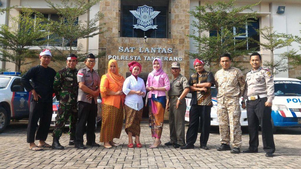 Hari Kesaktian Pancasila, Pelayanan SIM di Tangerang Bernuansa Perjuangan