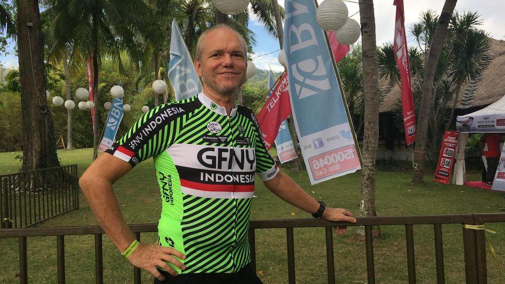 GFNY Indonesia yang Menantang Bagi Pegowes Tua dan Muda