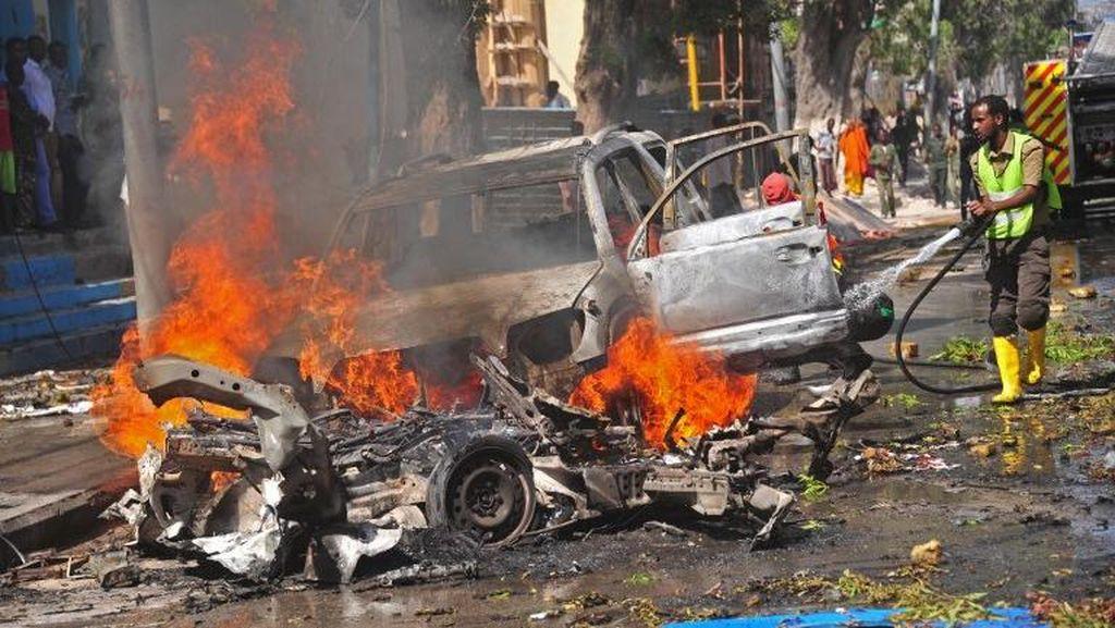 Restoran di Somalia Dibom Kelompok Militan al-Shabaab, 3 Tewas dan 4 Luka