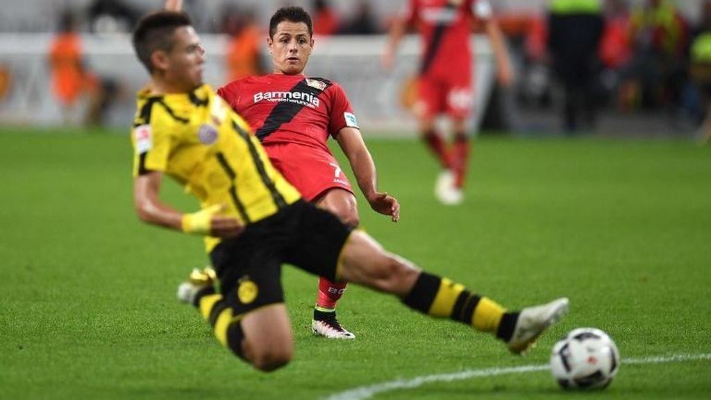 Dortmund Tumbang di Kandang Leverkusen