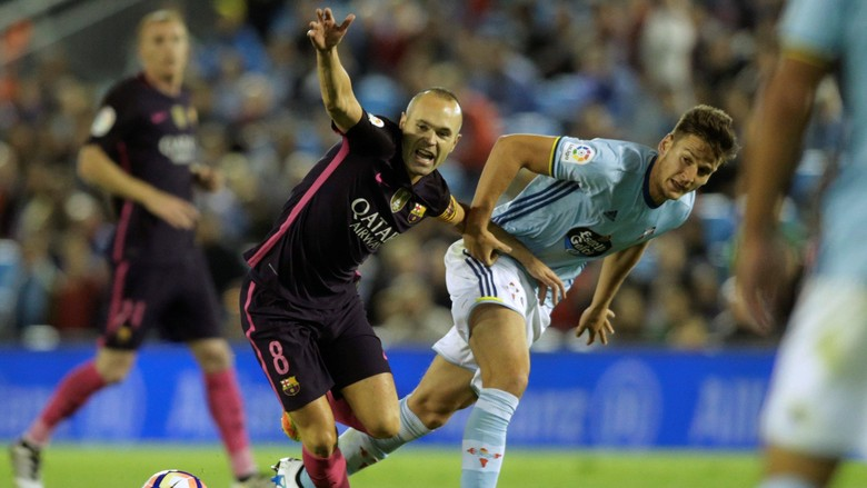 Barcelona Takluk 3-4 Dari Celta Vigo