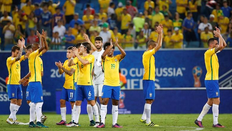 Brazil Hantam Bolivia Dengan Skor telak 5-0