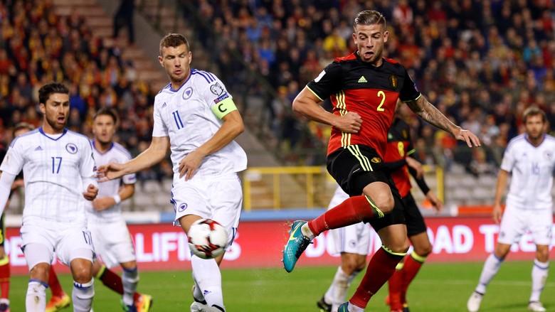Belgia Kalahkan Bosnia Empat Gol Tanpa Balas