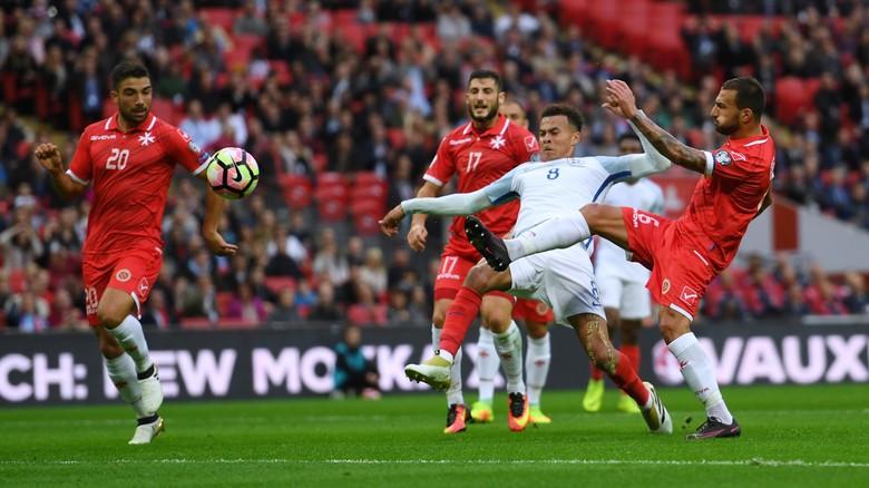 Inggris Kalahkan Malta Dengan Skor 2-0