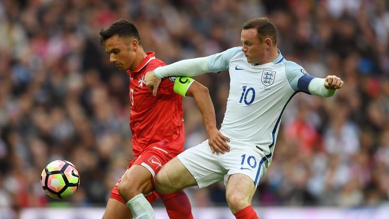 Tanggapan Slovenia Soal Rooney Dicadangkan