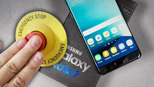 Galaxy Note 7 Tamat
