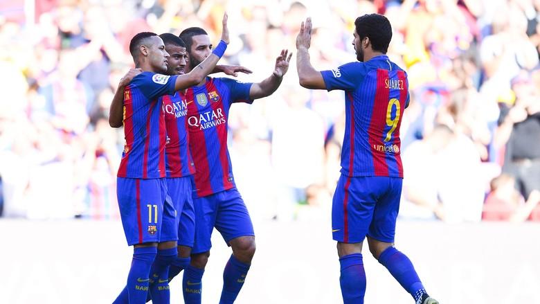 Barca Tundukkan Deportivo Dengan Telak