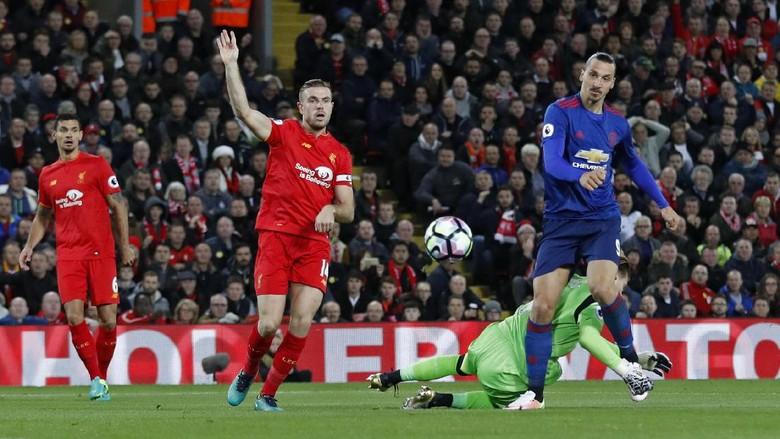 Laga Liverpool Vs MU Berakhir Dengan Skor Kacamata