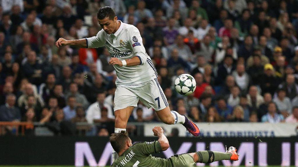 Jumlah Tembakan Ronaldo Lebih Banyak dari 4 Tim Liga Champions