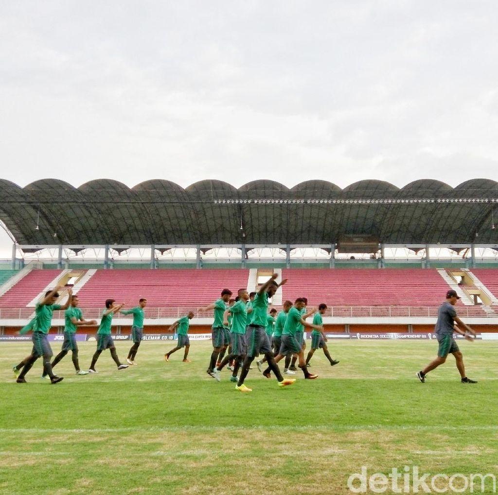 Timnas Mulai Jalani Pemusatan Latihan di Yogyakarta