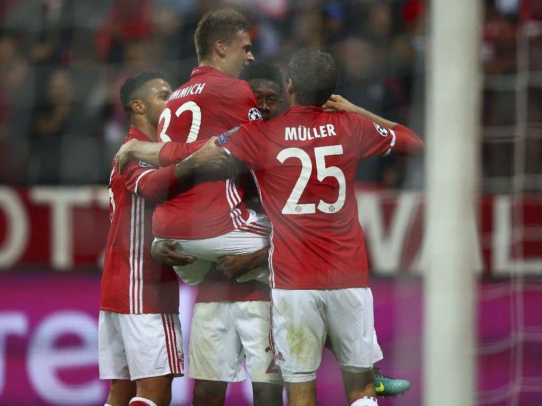 Bayern Munich Sukses Atas PSV 4-1
