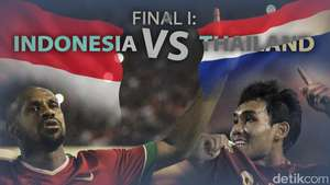 Final I Piala AFF: Indonesia vs Thailand