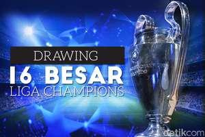 Drawing 16 Besar Liga Champions