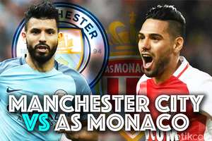 Man CIty vs AS Monaco