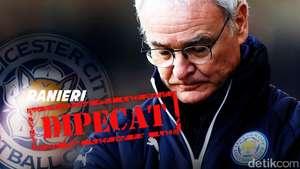 Claudio Ranieri Dipecat