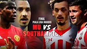 Final Piala Liga Inggris: MU vs Southampton
