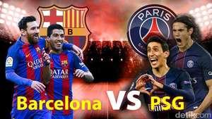 Comeback Gemilang Barcelona, Gilas PSG 6-1