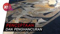 Melihat Transformasi Lukisan Pasir Terbesar Lee Mingwei di Museum Macan