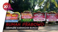 Dari Emak-emak Pancoran Hingga Bekasi Kirim Bunga untuk Prabowo