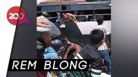 Detik-detik Evakuasi Penumpang Kecelakaan Bus di Puncak