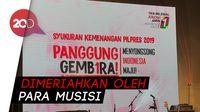 Saykoji Cs Meriahkan ''Panggung Gembira'' TKN Jokowi-Amin