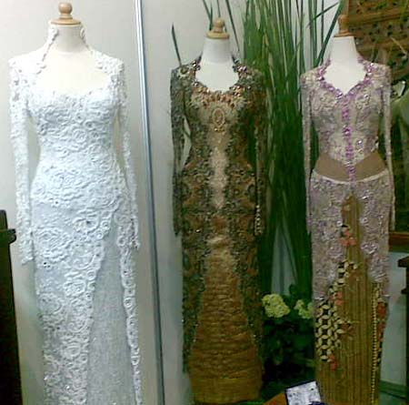 Muslim Wedding Dresses on Fashion  Lifestyle And Beauty  Kebaya Pengantin
