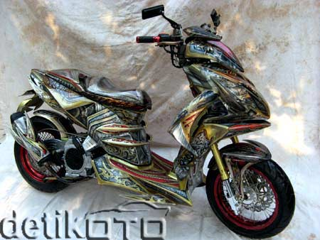Motor Modifikasi Ibu RT