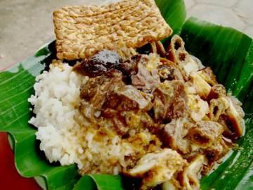 Resep Nasi: Nasi Gandul