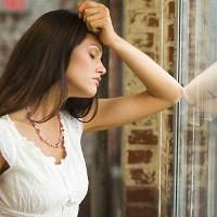 wanita stres