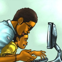 Mengetik bantu anak autis berkomunikasi