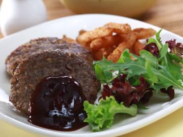 Resep Burger: Burger Sapi Jamur
