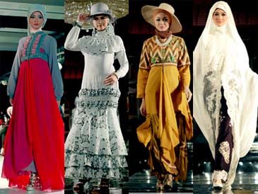 Baju Muslim Modern - Sekarang ini, berbagai model baju