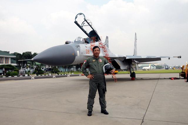 Wing Penerbang Kehormatan Untuk Panglima TNI dan Kasad