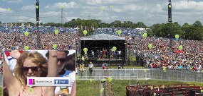 FOTO GLASTONBURY CROWD TERBANYAK DI-TAG FACEBOOK -