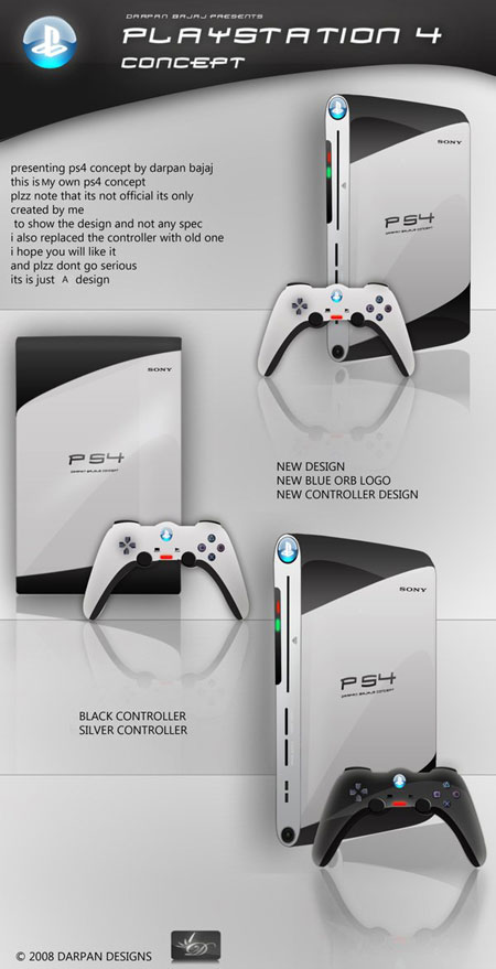 4 Design Cool Playstation 4