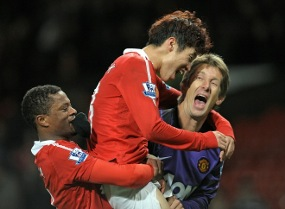 FOTO MANCHESTER UNITED EPL 2010 -