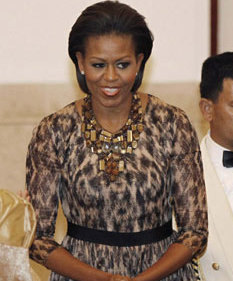 michelle obama pakai kerudung foto michelle obama pakai kerudung